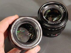 Voigtlander Nokton 50mm f/1.2 E-Mount Lens