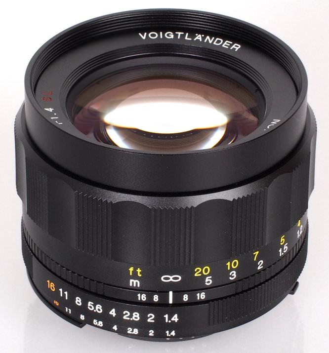 Voigtlander Nokton 58mm F1 4 SL II N (2)