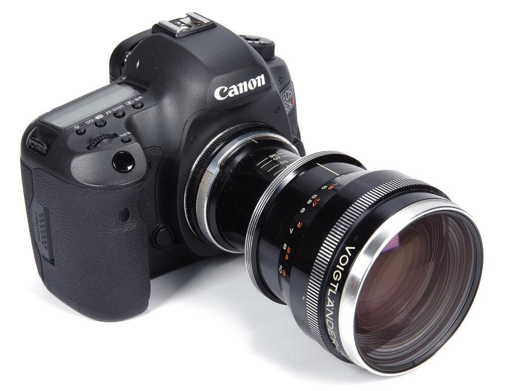 Voigtlander Zoomar On Canon 5dSR