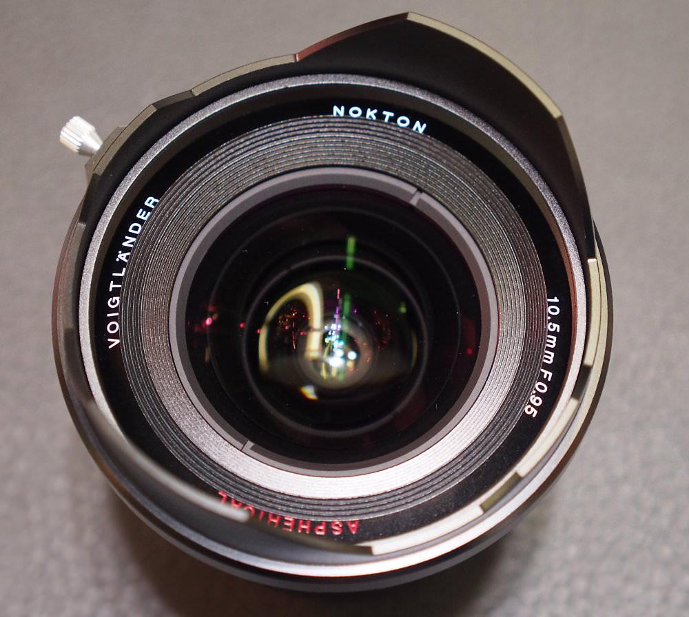 Nokton 10.5mm f/0.95