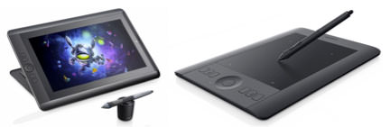 Cintiq Companion and the Intuos Pen & Touch S Tablet