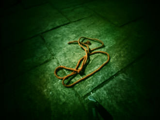 cross processed rope with pinwide
