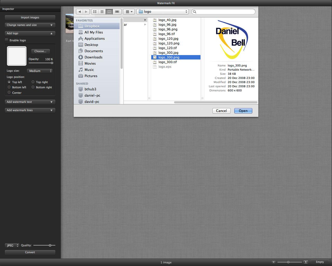 Watermark FX Mac App Review | ePHOTOzine