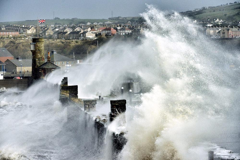 Storms Cumbria