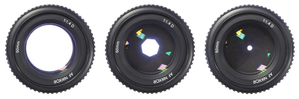 Nikon 50mm f/1.4 Lens - Different Apertures