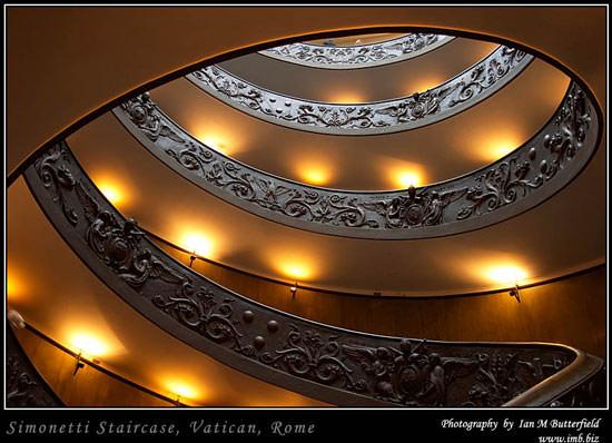 Simonetti Staircase, Vatican, Rome