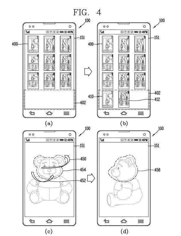 LG 16 lens smartphone patent