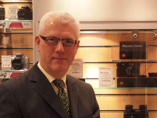 Wilkinson cameras MD David Parkinson