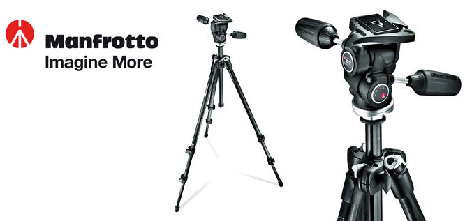Manfrotto 290 Series Carbon Fibre Photo Tripod