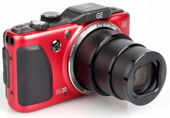Ge G100 Lens Extended