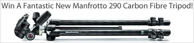 WIN A Fantastic New Manfrotto 290 Carbon Fibre tripod!