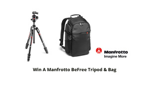 Win A Manfrotto BeFree Tripod & Bag!
