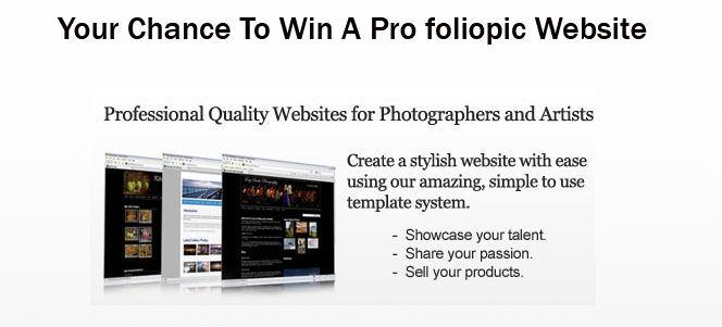 Win A Pro foliopic account
