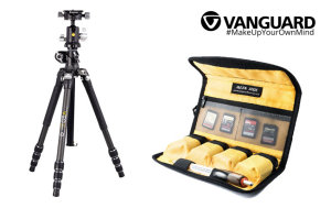 Win A Vanguard VEO 3T+ 264CB Tripod Or 1 Of 5 Vanguard ALTA BCL Battery Cases In Our 'Outdoor Photography' Competition