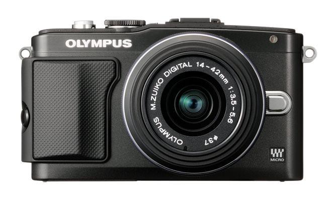 Olympus Pen Lite E-PL5 Black Front