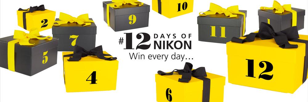 #12DaysOfNikon competition