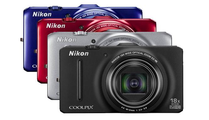 Nikon COOLPIX S9300 compact camera.