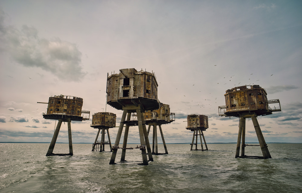Red Sands Sea Forts, Thames Estuary
