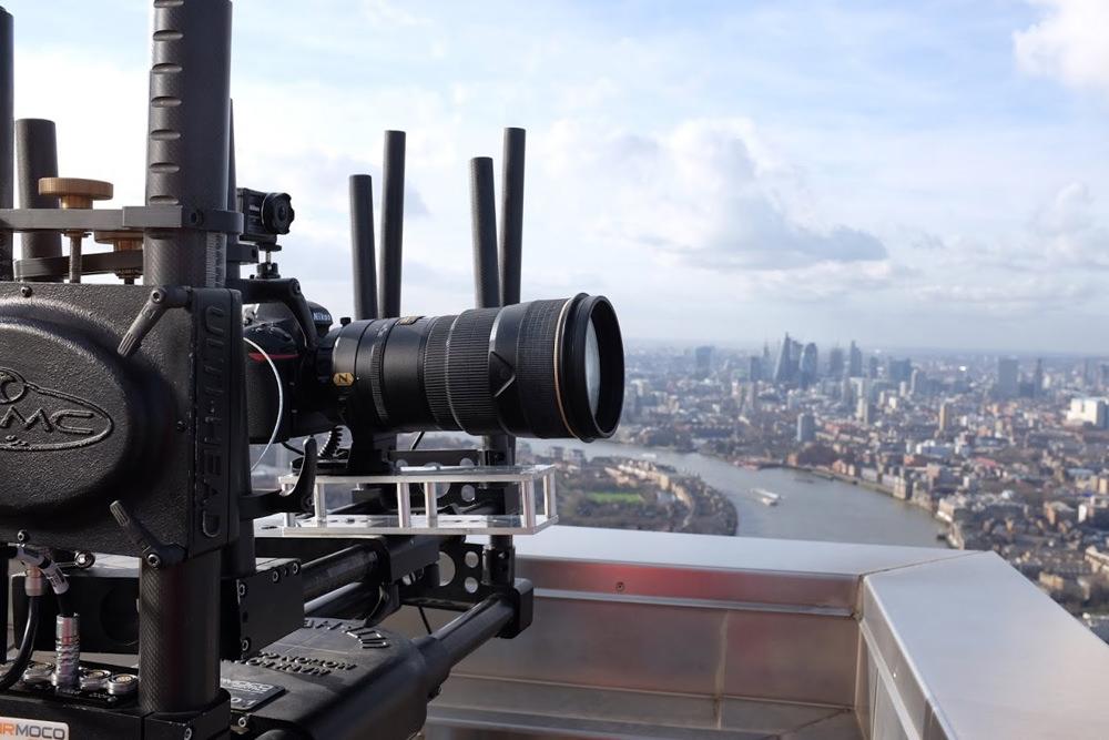 Gigapixel time-lapse panorama set-up
