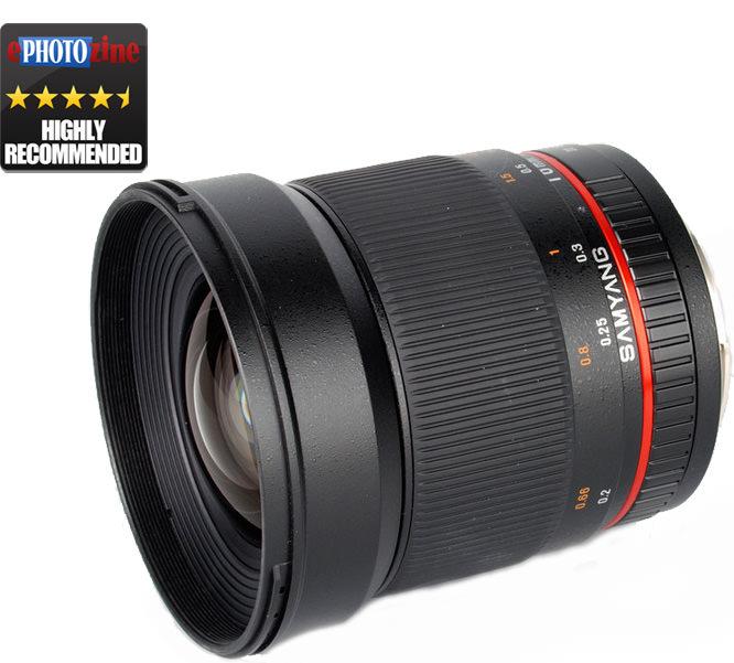 Samyang lens