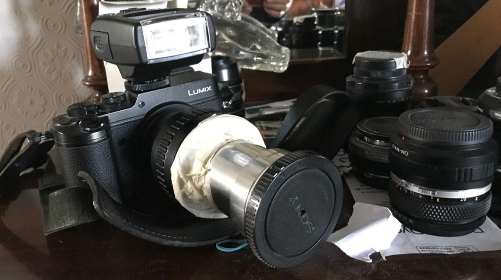 Hobbo camera setup