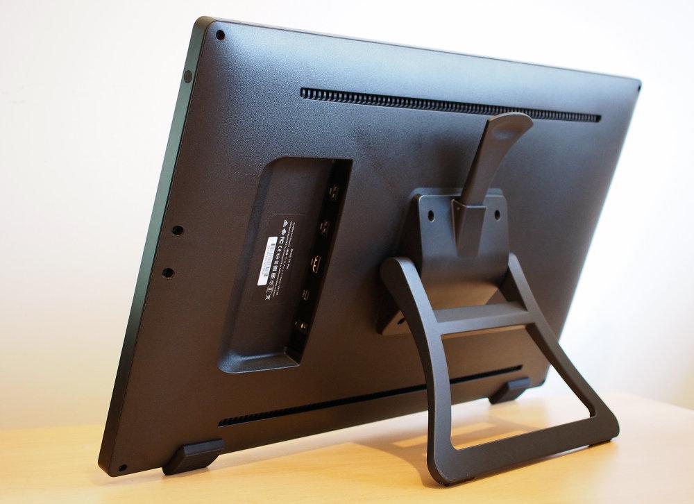 Xp Pen Artist 24 Pro Rear Screen Angled