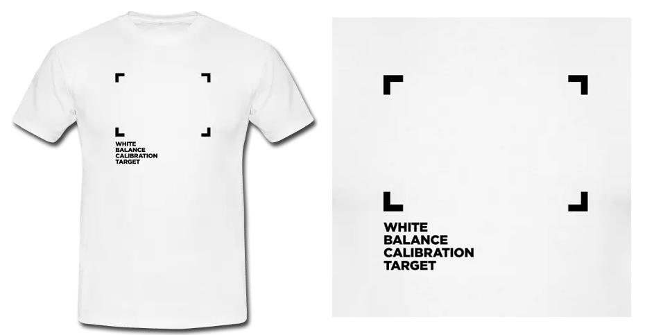 Men's T-Shirt - White Balance