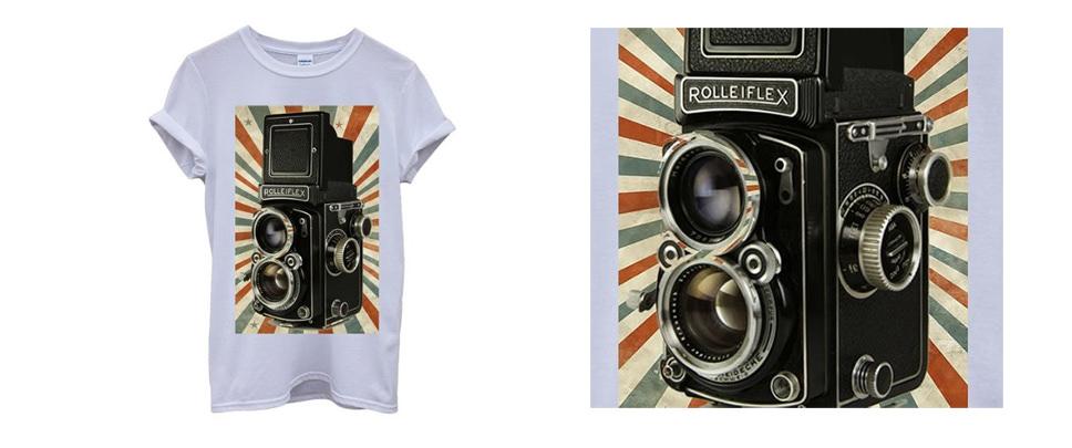 Retro Camera Photography T-Shirt