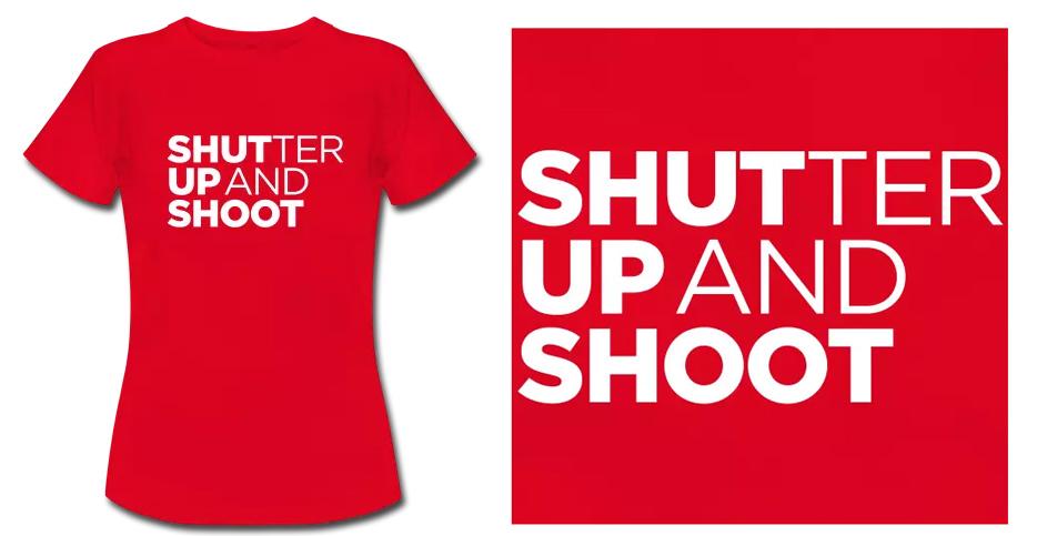 Shutter Up T-Shirt
