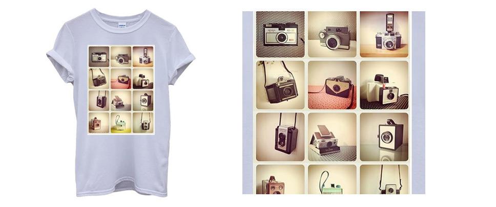 Retro Cameras Photography T-Shirt