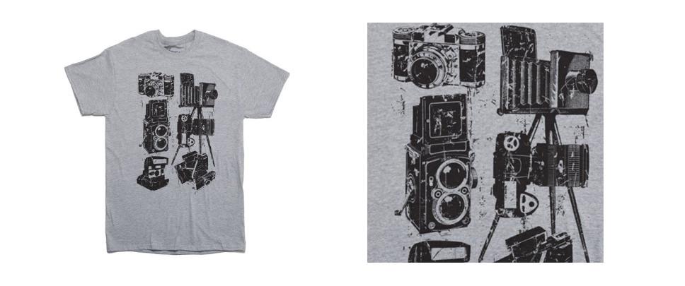 Rocket Factory Camera Collector Photographer T-shirt