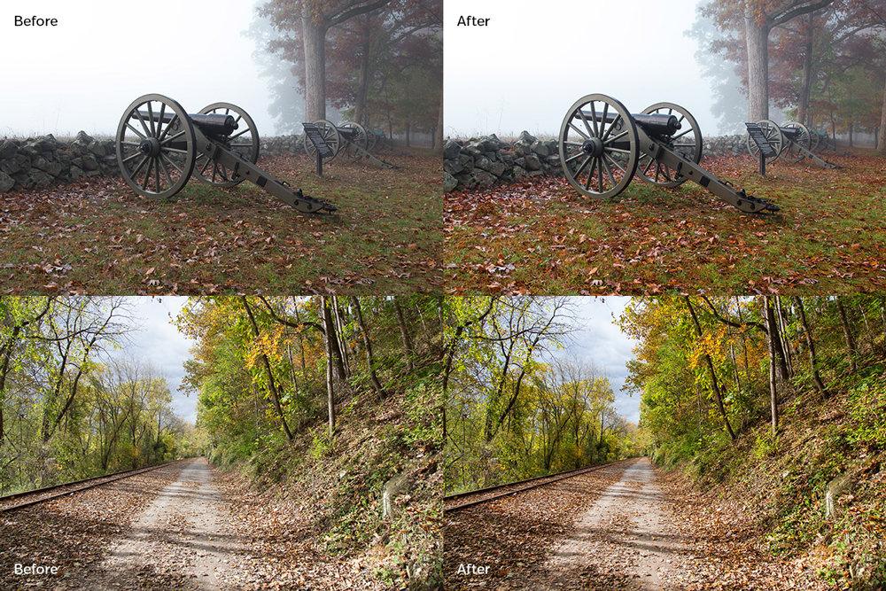 Free Autumn Landscape Lightroom Preset