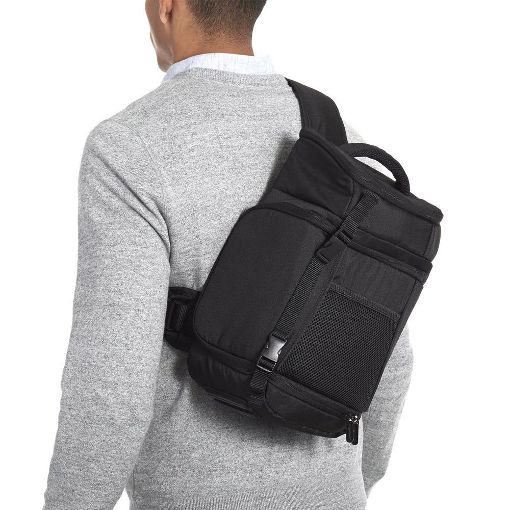 AmazonBasics Sling Backpack in Black for SLR Cameras