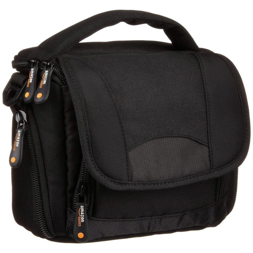 AmazonBasics Camcorder Bag with Shoulder Strap
