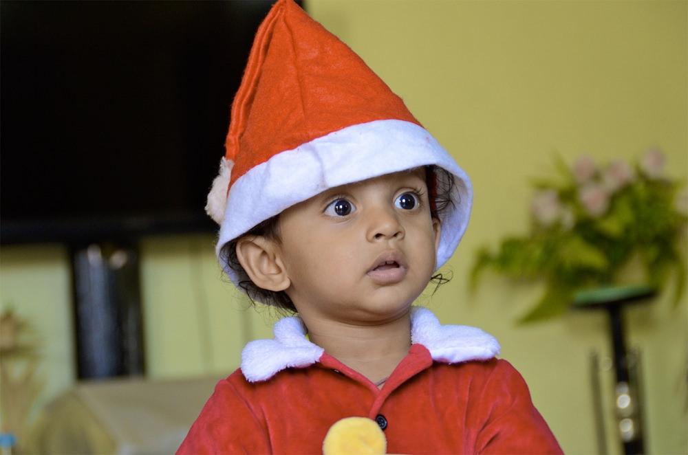 Cutest Santa.