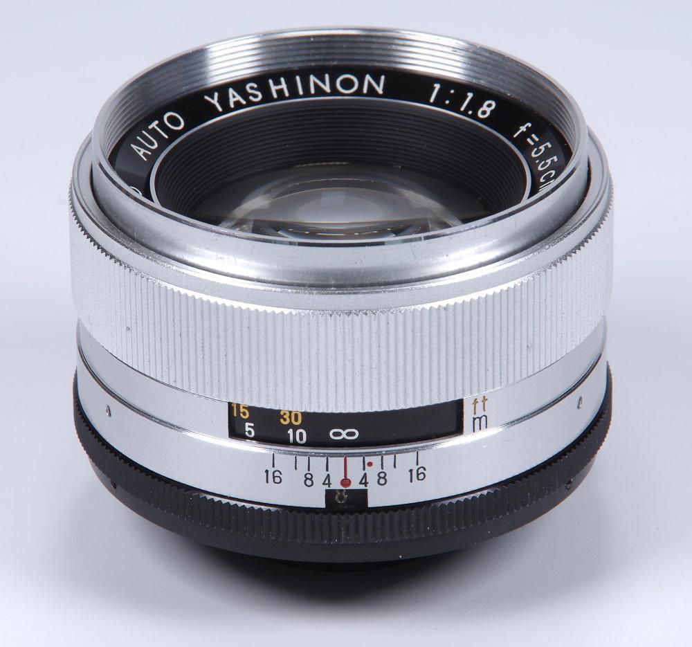 Auto-Yashinon 5.5cm f/1.8