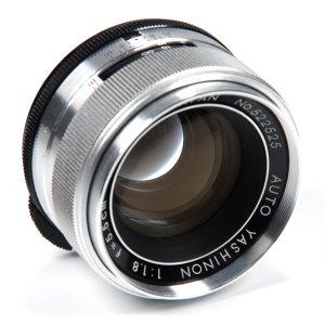 Yashica Auto-Yashinon 5.5cm f/1.8 Vintage Lens Review