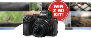 Your Chance To Win A Nikon Z 50 Camera Kit!