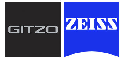 Gitzo and Zeiss logos