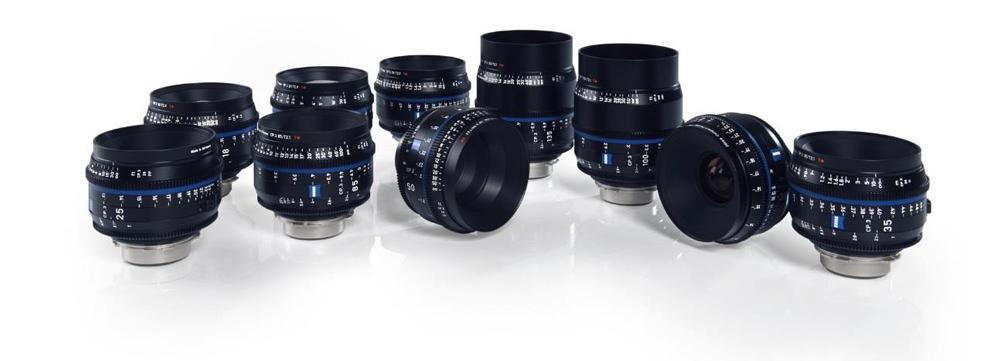 ZEISS CP.3 XD Cine Lens Family