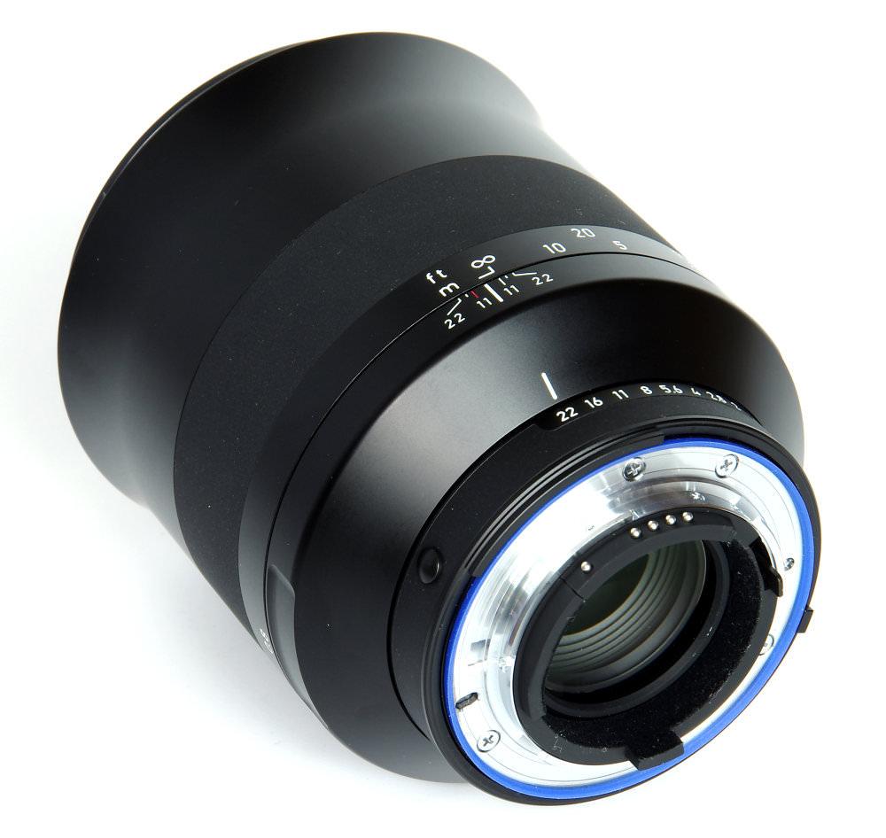 Zeiss Milvus 135mm F2 Rear Oblique View