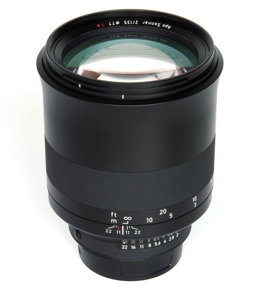 Zeiss Milvus 135mm F2 Vertical View