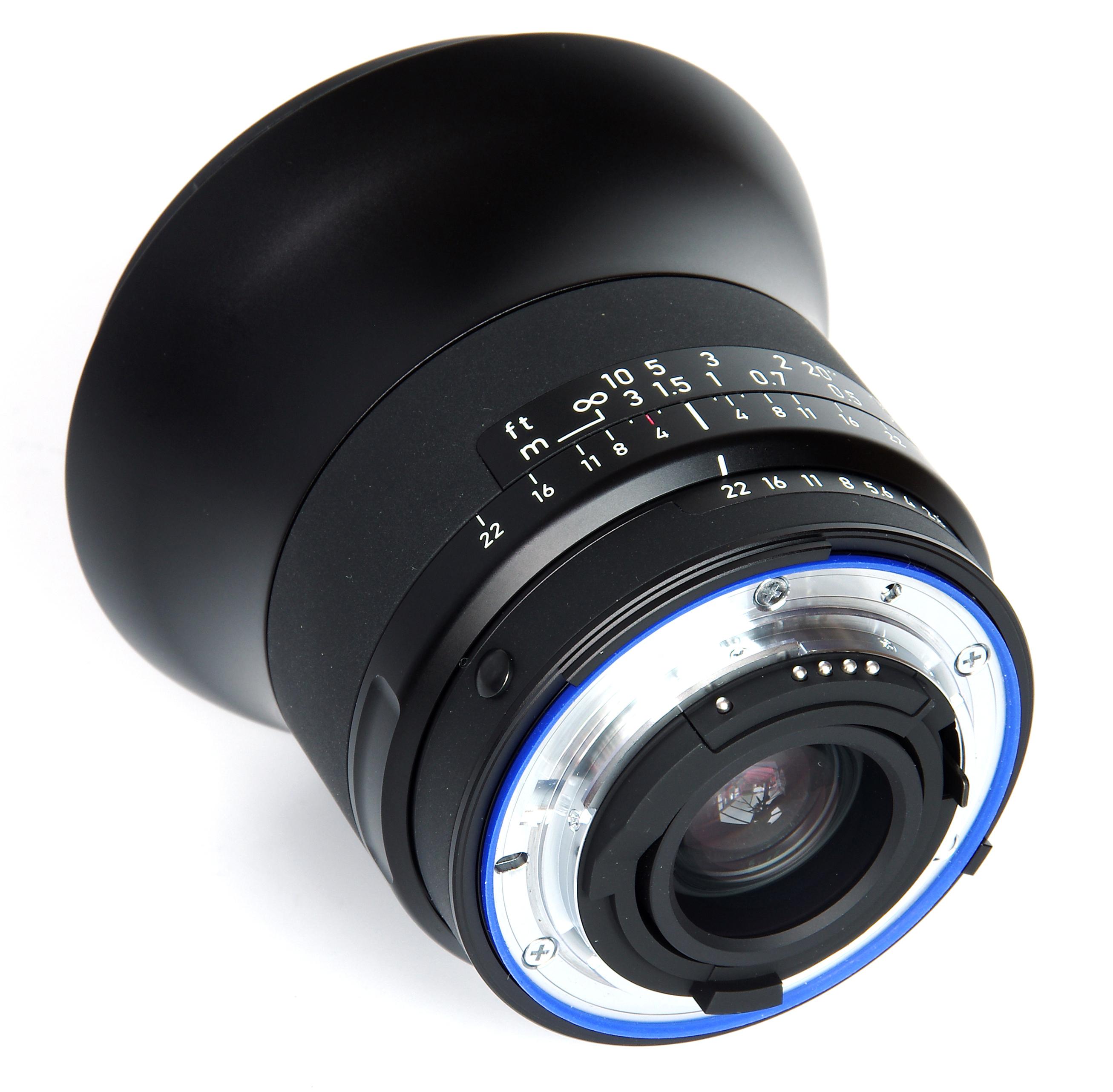ZEISS 18mm f/3.5 Distagon T* ZK Manual Focus Lens - Black