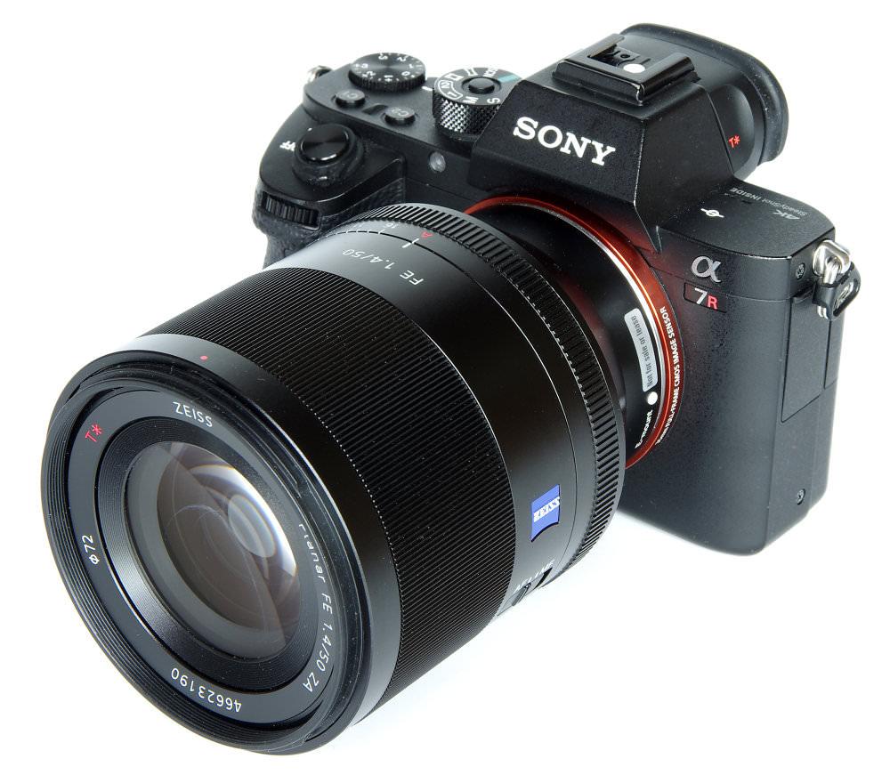 Sony 50mm F1,4 Za On A7r Ii