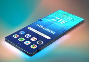 ZTE Put A Twist On The Folding Smartphone With Clamshell Design