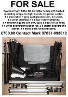 Selling : Bowens 3 Head 500w kitBowens 3 Head 500w kit