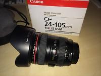 Selling : EF 24-105 1:4 L IS USM - MintEF 24-105 1:4 L IS USM - Mint