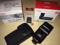 Selling : SpeedLite 430EX and BG-E3 Battery Grip + BatterySpeedLite 430EX and BG-E3 Battery Grip + Battery
