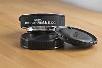 Selling : Sigma1.4x EX DG APO Tele ConverterSigma1.4x EX DG APO Tele Converter