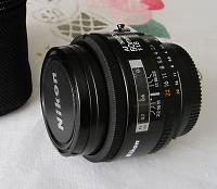 Selling : For sale 50mm Nikkor AF 1.8For sale 50mm Nikkor AF 1.8